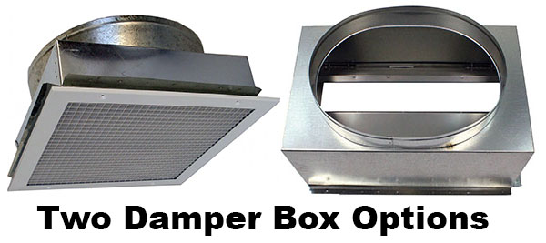 RM ES2200 Damper Box Options
